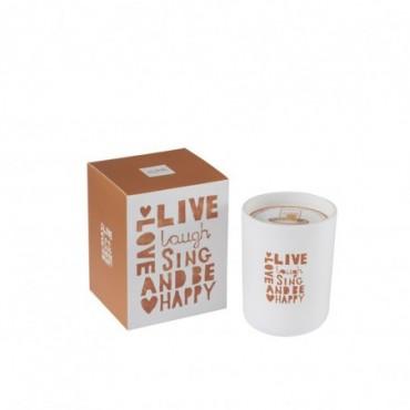 Bougie Parfumee Live Orange Small-50 Heures