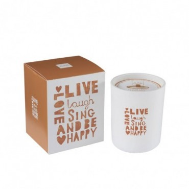 Bougie Parfumee Live Orange Medium-80 Heures