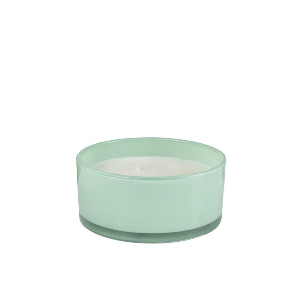 Bougie Parfumee Happy Ronde Verre Vert 35 Heures