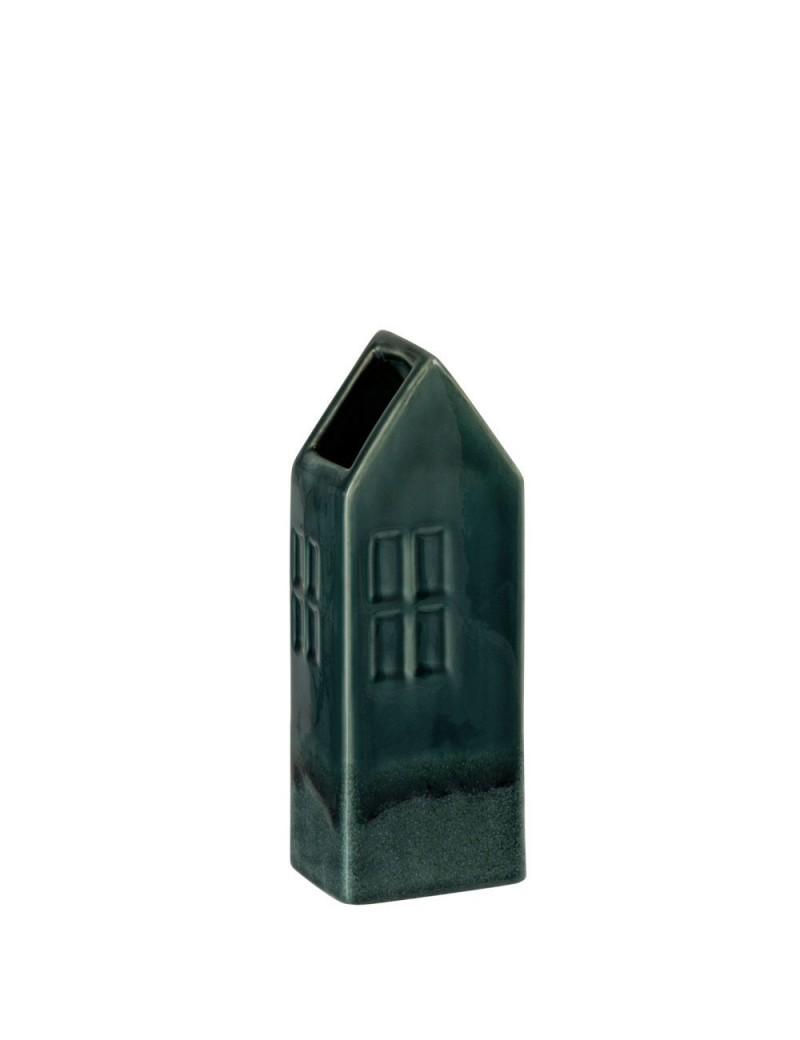 Vase Maison Ceramique Vert F