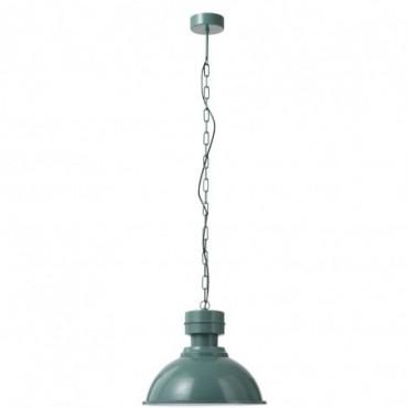 Lampe Suspendue Ronde Metal Vert