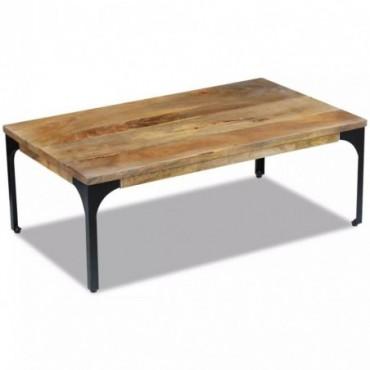 Table basse en bois de manguier 100x60x35cm