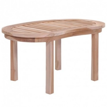 Table basse en bois de en teck massif 90x50x45cm
