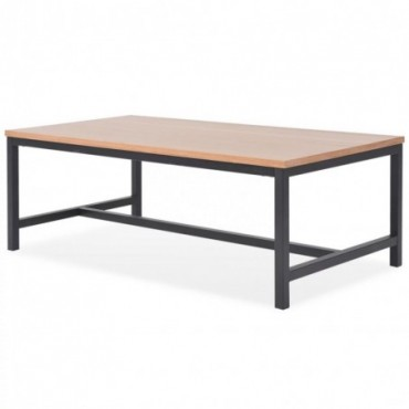 Table basse scandinave en bois de Frêne 100x55x36cm