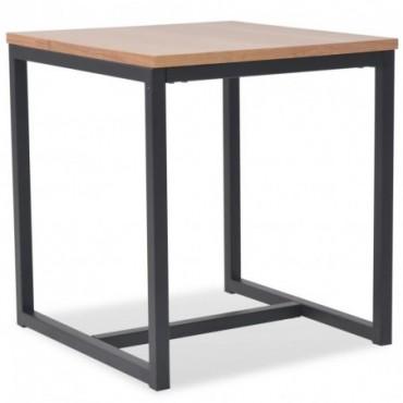 Table basse scandinave en bois de Frêne 48x48x53cm