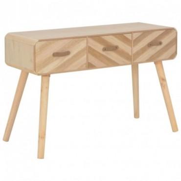 Console en bois massif 100x35x68cm