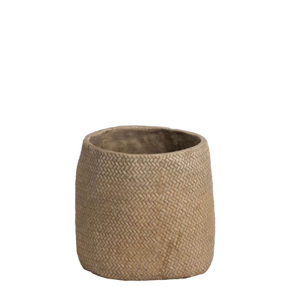 Cachepot Ceramique Naturel S