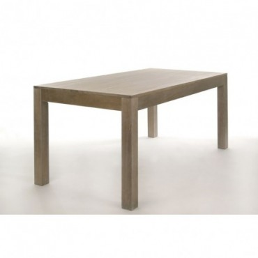 Table A Manger Rectangle Bois Gris W