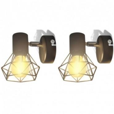 Lampes industrielles x2 ampoules LED