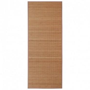 Tapis en bambou Marron 100x160cm
