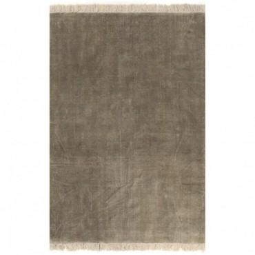 Tapis Kilim Coton Taupe 120x180cm