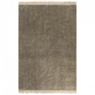 Tapis Kilim Coton Taupe 200x290cm