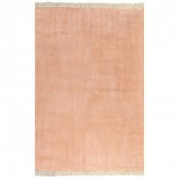 Tapis Kilim Coton Rose 160x230cm