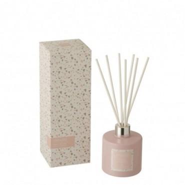 Huile Parfumee + Batonnet Terrazzo Rose/Blanc