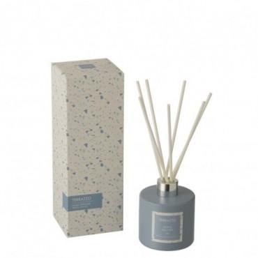 Huile Parfumee + Batonnets Terrazzo Bleu/Blanc