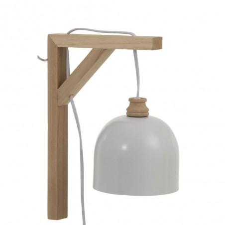 Lampe Murale Denis Sapin/Metal Blanc