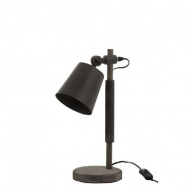 Lampe Emi Sapin/Metal Marron