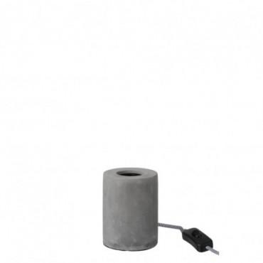 Lampe Ronde Ciment Gris