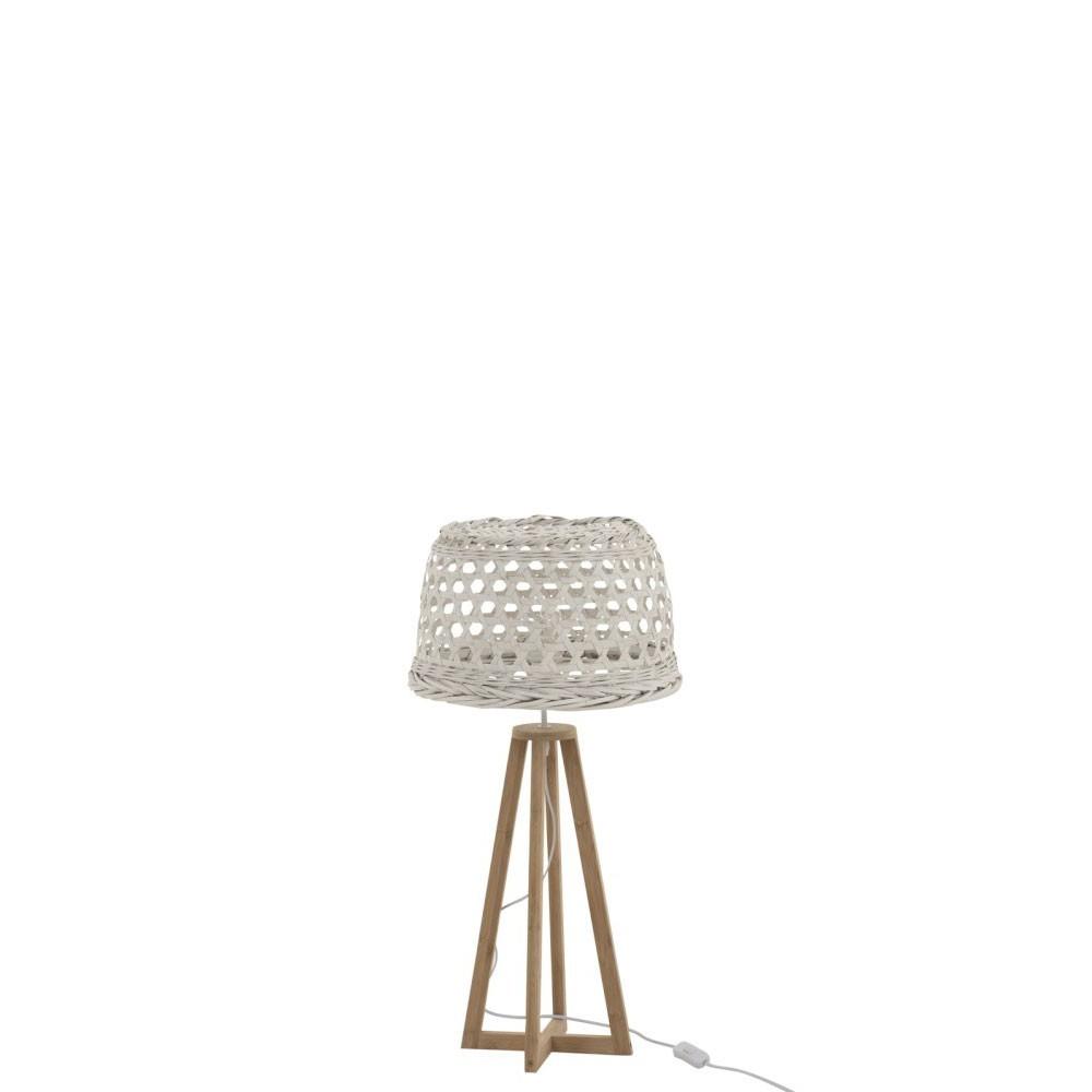 Lampe Muna Bambou/Sapin Blanc/Naturel