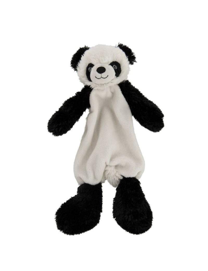 Doudou Panda Peluche Noir/Blanc