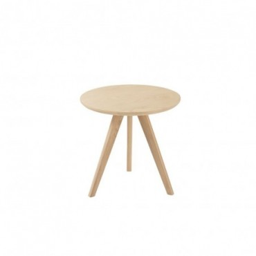 Table Gigogne Scandinave Bois Naturel 50cm