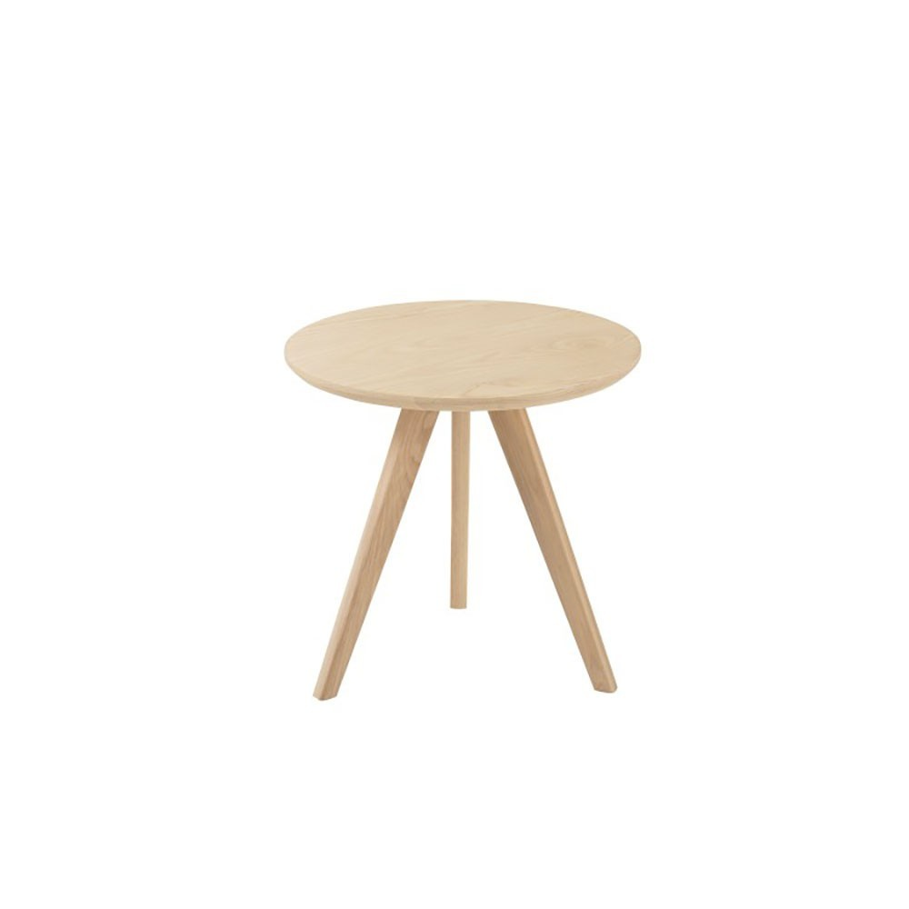Table Gigogne Scandinave Bois Naturel Large