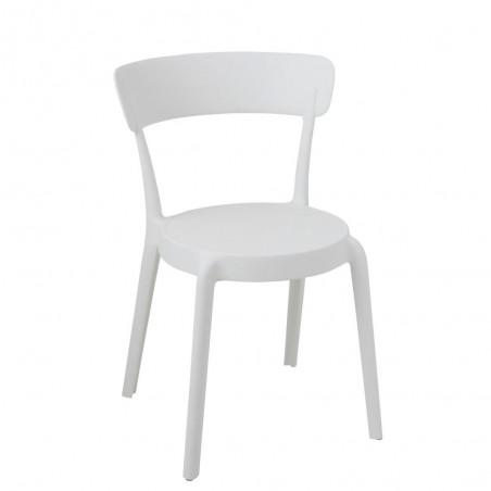 Chaise Kurt Plastique Blanc