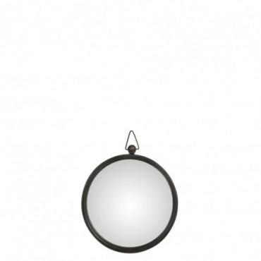 Miroir Bombe Metal Noir Petite taille