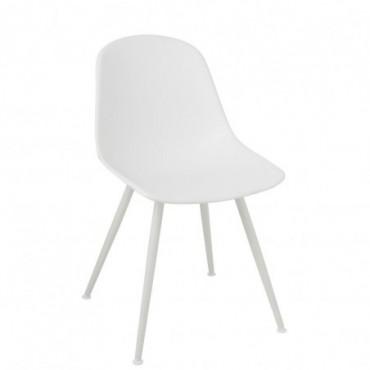Chaise Bea Plastique Blanc