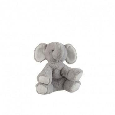 Elephant Peluche Gris Petite taille