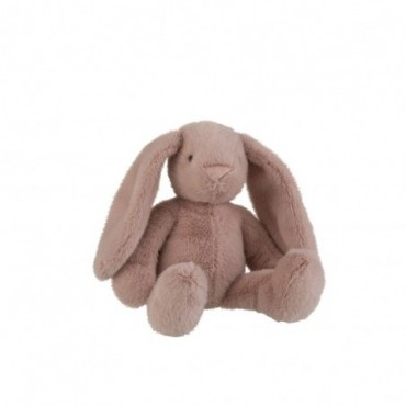 Lapin Peluche Rose Grande taille