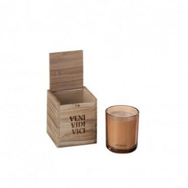 Boite Bougies Parfumées Veni Vidi Vici Cire Or S 50H