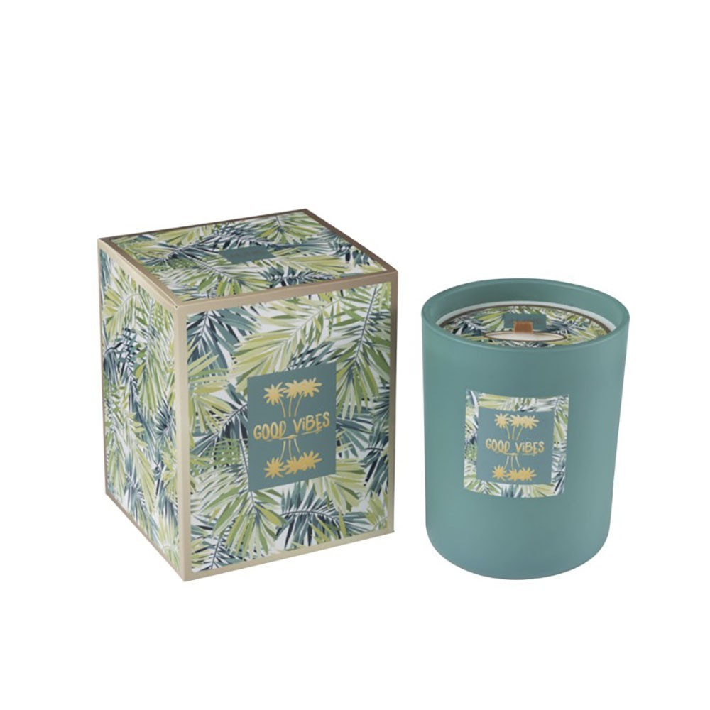 Bougie Parfumée Tropical Vert M-80H