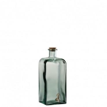 Distributeur Boisson Bouteille Verre Transparent Grande taille