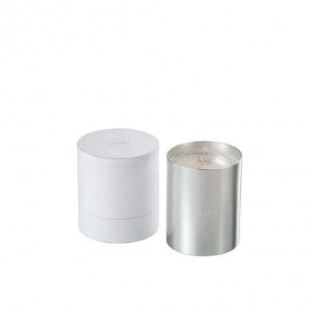 Bougie Parfumée Simplicity Cire Blanc/Argent 70H