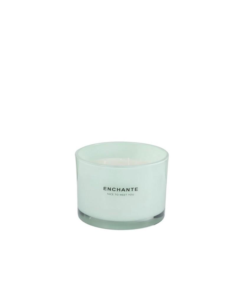 Bougie Parfumée Enchanté Vert Menthe L-30H