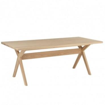 Table A Manger Scandinave Bois Naturel
