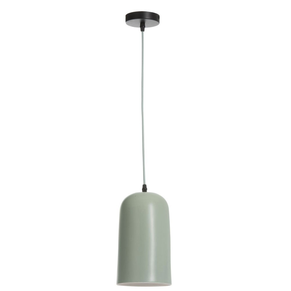 Lampe Suspendue Conique Porcelaine Vert Claire