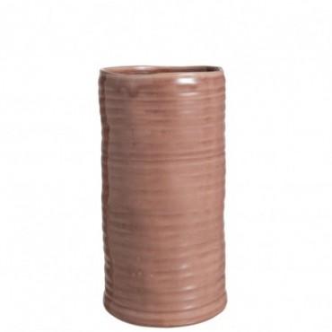 Vase Inegal Ceramique Rose Grande taille