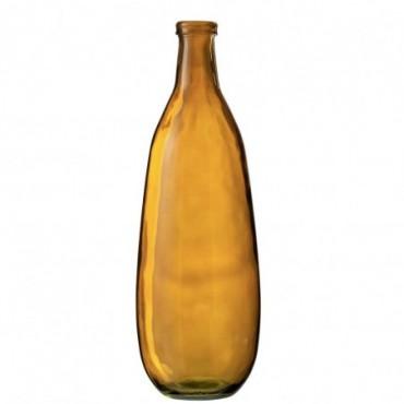 Vase Lisa Verre Ocre Grande taille