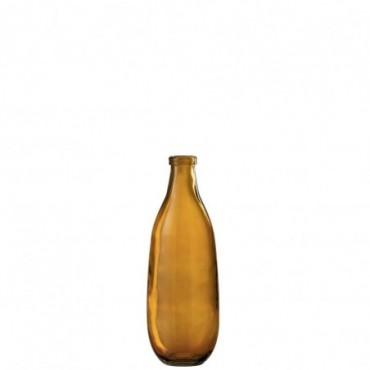 Vase Lisa Verre Ocre Petite taille