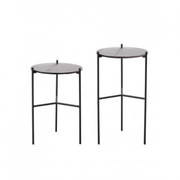 Table d'appoint Cille Bloomingville Lot de 2