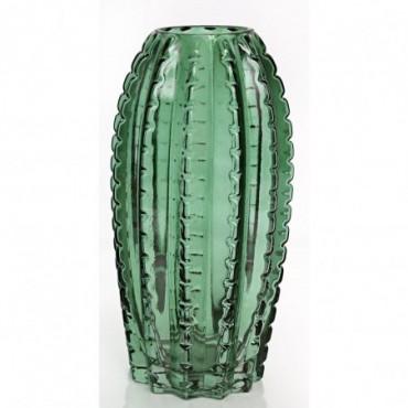 Vase Cactus vert 25cm