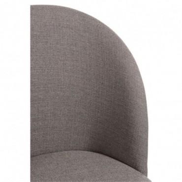 Chaise Vincent TextileBois Taupe J line