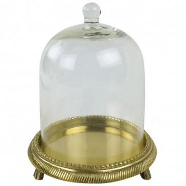 Cloche en verre Dôme 18.5cm