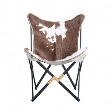 Chaise en Peau de vache Bloomingville Tilde
