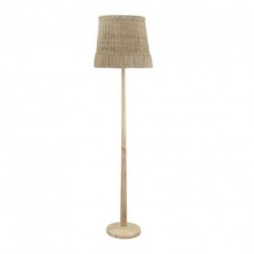 Lampe sur pied en Rotin Bloomingville Kakasi
