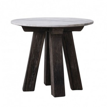 Table d'appoint en Bois recyclé Bloomingville Banco
