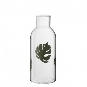 Vase Forme Ronde Feuille Monstera L