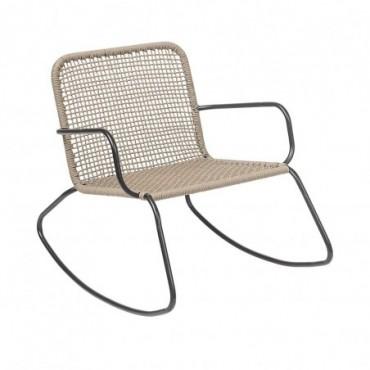 Chaise à bascule en Métal Bloomingville Mundo